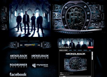 Torry Courte – Nickelback Dark Horse Layout
