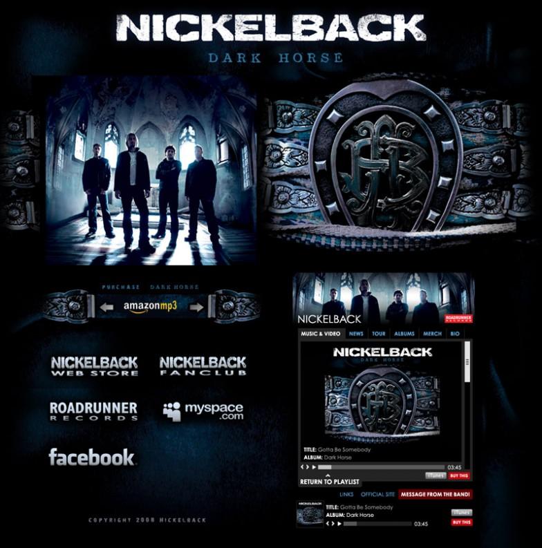 Torry Courte – Nickelback Dark Horse Layout